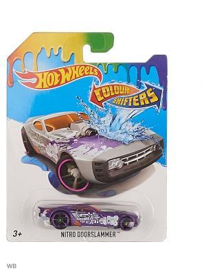 Машинка, изменяющая цвет Hot Wheels. Цвет: темно-фиолетовый, серебристый, белый