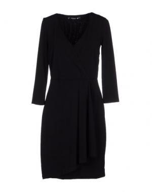 Короткое платье CRISTINAEFFE COLLECTION. Цвет: черный