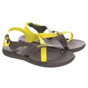Сандалии детские  Kids Explorer Grey/Yellow Havaianas. Цвет: серый,желтый