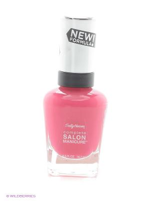 Лак для ногтей Salon Manicure Keratin, тон cherry up #542 SALLY HANSEN. Цвет: фуксия