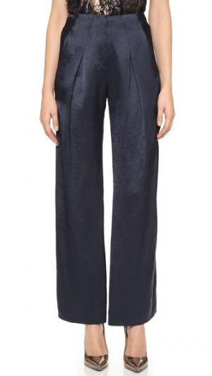 Широкие брюки Zero + Maria Cornejo. Цвет: голубой