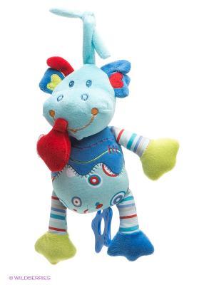 Развивающая игрушка Динозаврик Жирафики. Цвет: голубой