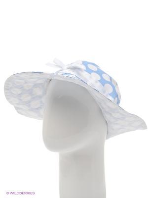 Шляпа Gulliver. Цвет: голубой, белый