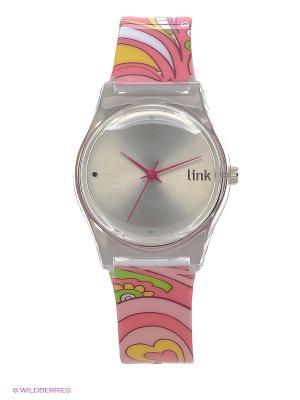 Часы Link - Sweetheart Kawaii Factory. Цвет: розовый, желтый, зеленый