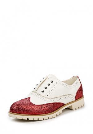 Ботинки Fiori&Spine. Цвет: красный