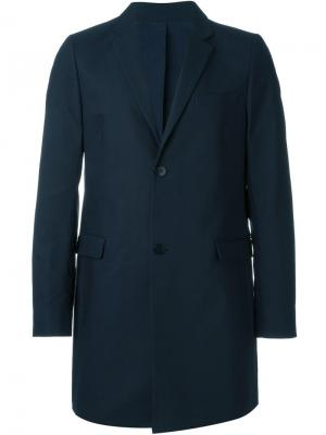 Пальто Three Four Folk. Цвет: синий