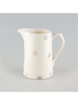 Кувшин 0,35л Модди Quality Ceramic. Цвет: белый