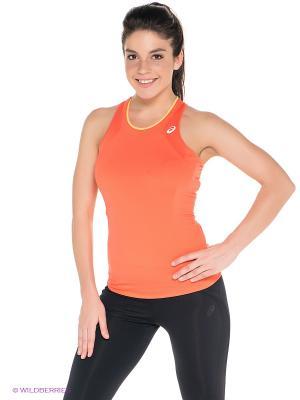 Майка Athlete Tank Top ASICS. Цвет: оранжевый