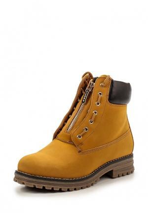 Ботинки Keddo. Цвет: коричневый