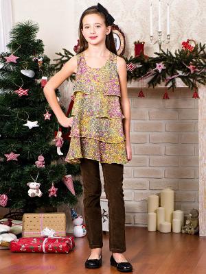 Платье VM18. Цвет: зеленый, сиреневый, горчичный