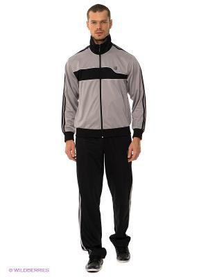 Спортивный костюм ADDIC. Цвет: антрацитовый, серый