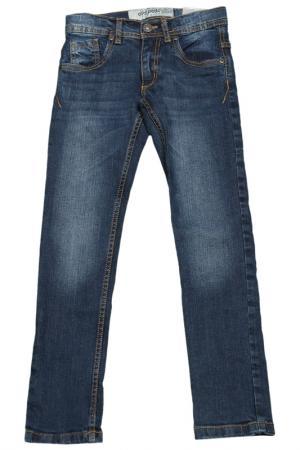 Брюки Dodipetto. Цвет: синий, джинсовый