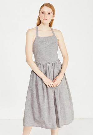 Платье Cocos. Цвет: серый