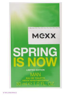 Туалетная вода Spring Is Now Man, 30 мл MEXX. Цвет: зеленый