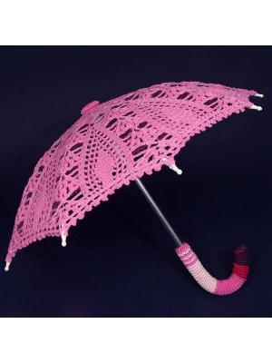 Интерьерный зонт Малиновый смуззи Локсы. Цвет: малиновый