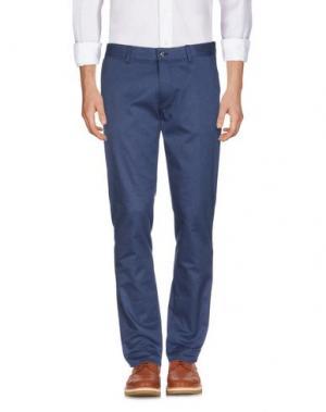 Повседневные брюки J. LINDEBERG. Цвет: синий