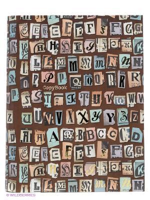 Каллиграфия (орнамент) ТЕТРАДИ НА КОЛЬЦАХ СО СМЕННЫМИ БЛОКАМИ 120л. Канц-Эксмо. Цвет: коричневый