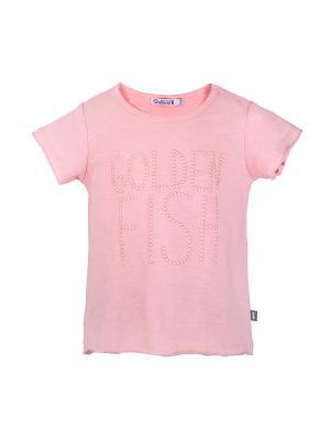 Футболка Gulliver Baby. Цвет: розовый