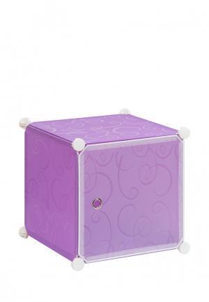 Система хранения El Casa. Цвет: фиолетовый