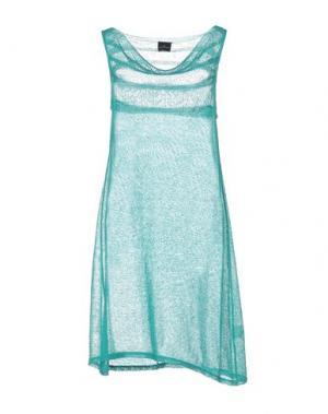 Короткое платье GOTHA. Цвет: бирюзовый