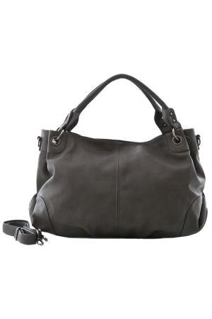 Сумка Vera bags. Цвет: серый