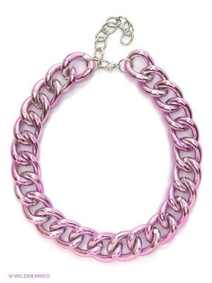 Ожерелье Top Secret. Цвет: розовый