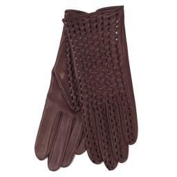 Перчатки  PERFO TRESSE бордовый AGNELLE