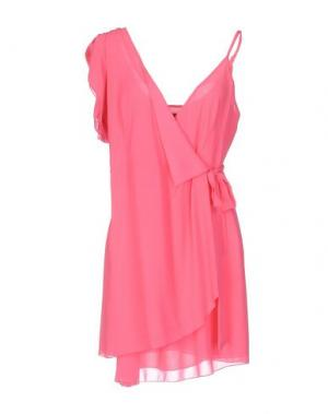 Короткое платье TRY ME. Цвет: фуксия