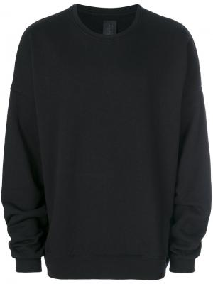 Crew neck sweatshirt Thom Krom. Цвет: чёрный