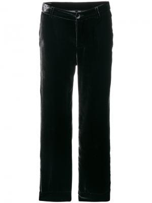 Бархатные пижамные брюки F.R.S For Restless Sleepers. Цвет: чёрный