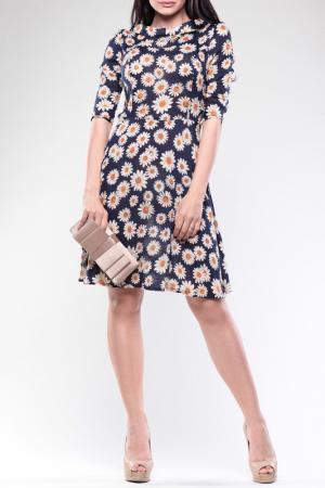 Платье REBECCA TATTI. Цвет: цветочный принт