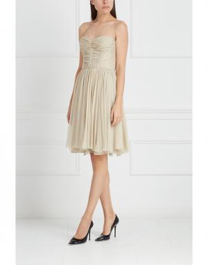 Платье J. Mendel. Цвет: бежевый