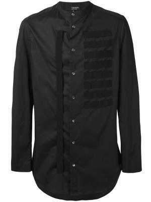 Рубашка с контрастными лямками Tom Rebl. Цвет: чёрный