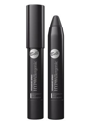 Bell Hypoallergenic тени для век в карандаше Waterproof Stick Eyeshadow Тон 12. Цвет: черный