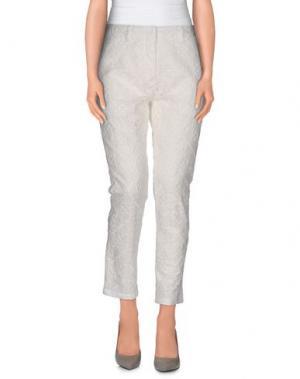 Повседневные брюки AIMO RICHLY. Цвет: слоновая кость