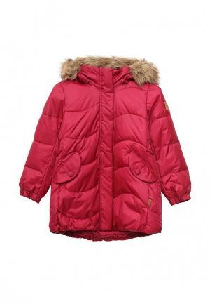 Куртка утепленная Reima. Цвет: фуксия