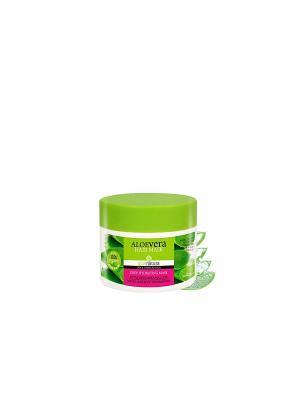 Алоэнейчер маска для всех типов волос увлажняющая с экстрактом алоэ, 150мл Madis S.A.. Цвет: светло-зеленый
