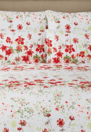Постельное белье Estia. Цвет: белый