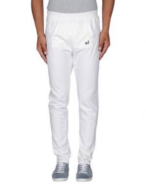 Повседневные брюки DAPHNE. Цвет: белый