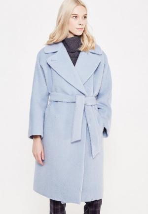 Пальто Weekend Max Mara. Цвет: голубой