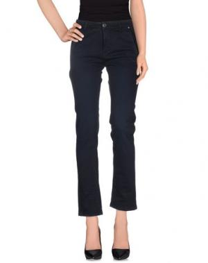 Повседневные брюки JCOLOR. Цвет: темно-синий
