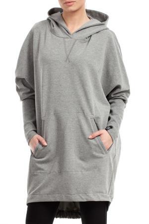Hoodie BeWear. Цвет: grey