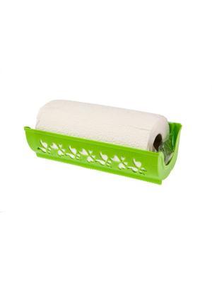 Держатель для бумажных полотенец Fly (салатный) Berossi. Цвет: салатовый