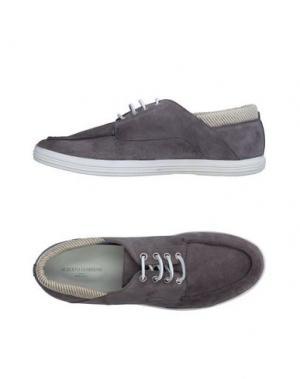 Обувь на шнурках GUARDIANI DRIVE. Цвет: свинцово-серый