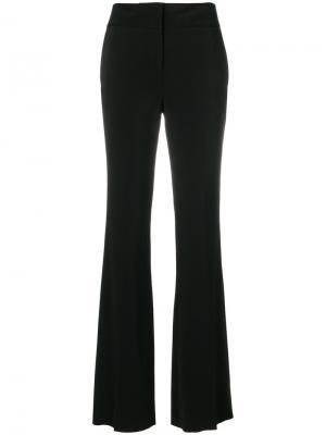 Расклешенные брюки Just Cavalli. Цвет: чёрный