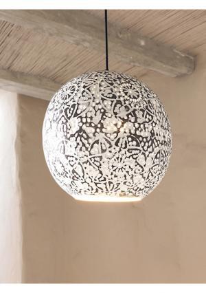 Подвесной светильник Heine Home. Цвет: белый винтажный