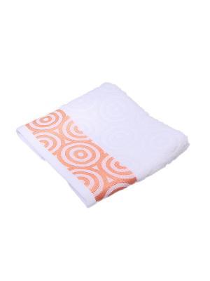Полотенце Migura. Цвет: белый,оранжевый