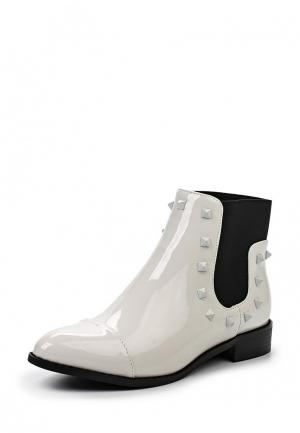 Ботинки Playgirl. Цвет: белый