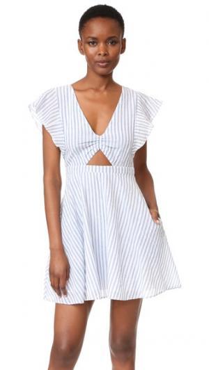 Платье Nieve Cleobella. Цвет: полоска тринидад