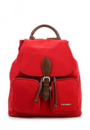 Рюкзак Twin-Set Simona Barbieri. Цвет: красный